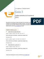 Guia 3 de Analisis Matematico