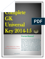 Complete Gk Universal Key 2014-15 (Check It Out) Bansal_2
