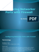 Configuring Networker Ports With Firewall