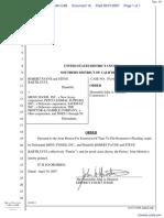 Payne et al v. Menu Foods, Inc. et al - Document No. 16