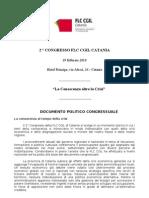 Il Documento Politico Approvato Al Congresso Della Flc Cgil Il 19 Febbraio 2010