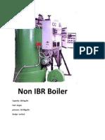 Non IBR Boiler manufacturer
