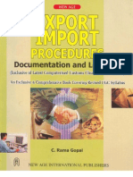 C Rama Gopal Export_Import_Procedures
