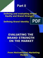 Marketing ppt(Brand Strength)