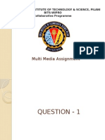 Multimedia Assignment