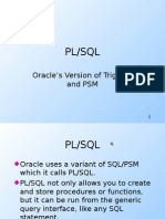 Oracle's PL-SQL