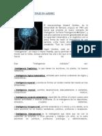 Inteligencias Multiples en Ajedrez