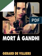 SAS 081 - Mort à Gandhi Gerard de Villiers