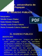 normas  ingreso publico