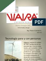 Waira Aerogenenerador Peru