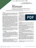 Norma ASTM D1142 Determinación Punto de Rocío