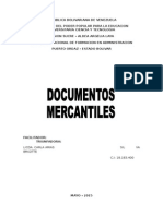 Documentos Mercantile s