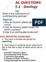 1314-Geology Group Reporting