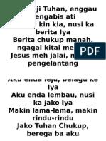 Jesus Meh Jalai Ngagai Pengelantang