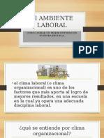 El Ambiente Laboral