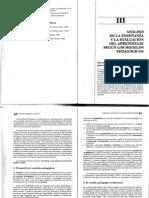 Cap. III Análisis de La Enseñanz y La Evaluación Del Aprendi