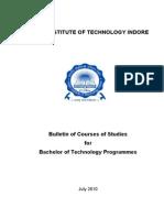 Bulletin for B Tech_2010
