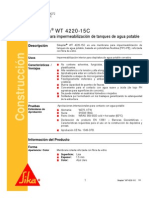Membrana Impermeabilizacion Tanques Sikaplan Wt4220 15c