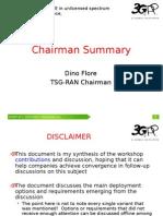 RWS-140029 Chairman Summary