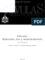 Válvulas, Selección, Uso y Mantenimiento - Richard W. Greene.pdf