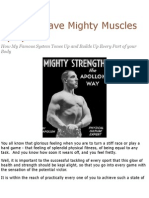 You Can Have Mighty Muscles by Apollon