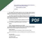 Decreto Supremo Nº 03_2009EF