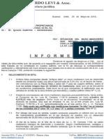 Informe Sobre Derechos de Medianería LMC1116