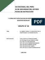 Elhabeas Corpus y Su Relacion Con La Constitucion y La Funcion Policial