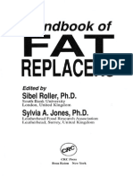 Handbook of fat replacers