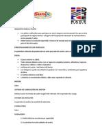 Reglamento Cat. Iniciacion 2015 - Autodromo Sunix