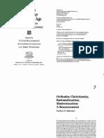 Makrides - Orthodox Christianity, Rationalization, Modernization-Reassessment