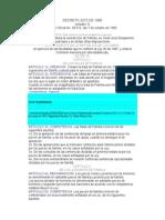 Decreto 2272 de 1989 Colombia