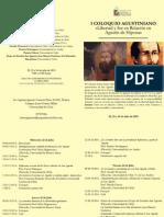 Programa Del i Coloquio Agustiniano