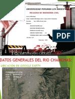 Estudio Hidrologico de Cuenca Del Rio Chanchas