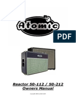 Atomic Reactor 112-212 50W - Manual