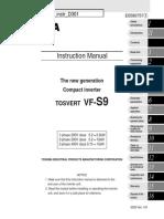 Toshiba Inverter VFS9 Instr D301