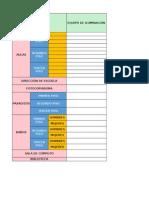 Formato Excel Inventario