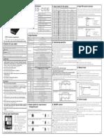 1) Manual - Modelo TZN4S