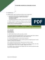 Estructura de Informe