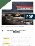 GEO PIlot Best Practices