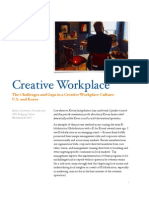 Creative Workplace Culture U.S. and Korea