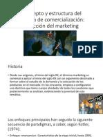 Concepto y Estructura Del Sistema de Comercialización
