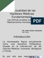 La Actualidad de Las Hipótesis Medicas Fundamentales