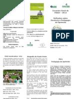 Folder PIBID EventoPauloFreire2