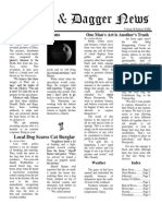 Pilcrow and Dagger Sunday News 7-19-2015 Vol 2 Ed 23