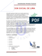 Situacion Social de Lima