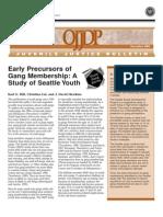 DOJ A Study of Seattle Youth