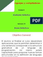 S10 - 1 Manejo de Errores Sintacticos