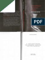 A Sociabilidade Do Homem Simples (2010) - MARTINS, José de Souza