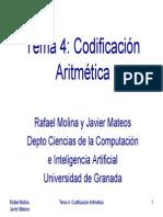 Codificacion Aritmetica